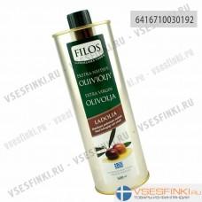 Оливковое масло Filos ladolia extra virgin 500мл