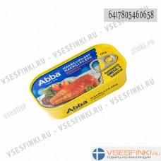 Филе скумбрии Abba в томатном соусе 125гр