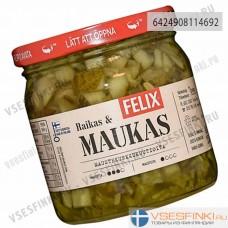 Огурцы Felix маринованные кубиками 410/250 гр