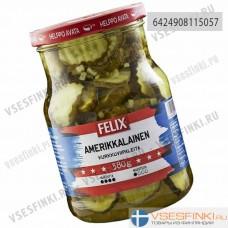 Огурцы Felix резаные в сладком соусе 730/380гр