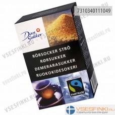 Сахар тростниковый Dansukker  500 гр Fairtrade