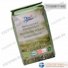 Сахар органический Dansukker 1 кг
