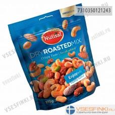 Смесь соленый и жареный орехов Nutisal 175гр