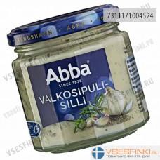 Сельдь Abba в чесночном соусе 225гр