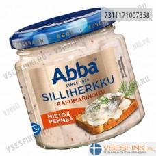 Сельдь Abba деликатесная маринованная с креветками 220гр