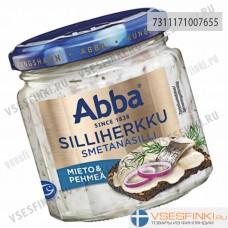 Сельдь Abba деликатесная со сметаной 220гр