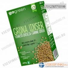 Чечевица GoGreen зеленая 400 гр