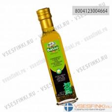 Оливковое масло Basso Extra Vergin Olive Oil с базиликом 250мл