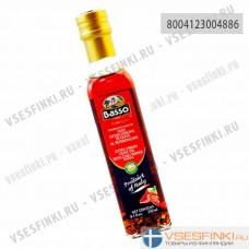 Оливковое масло Basso Extra Vergin Olive Oil с перцем чили 250мл