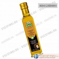 Оливковое масло Basso Extra Vergin Olive Oil с трюфельной эссенцией 250 мл