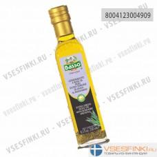 Оливковое масло Basso Extra Vergin Olive Oil с розмарином 250мл