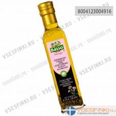 Оливковое масло Basso Extra Vergin Olive Oil с орегано 250 мл