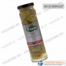 Оливки Fragata фаршированные перцем 240 гр