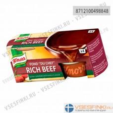 Knorr мясной говяжий бульон темный 112гр (4 желе капсул)