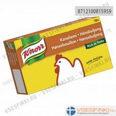Knorr куриный бульон 180гр (18 кубиков)
