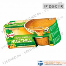 Knorr мясной овощной бульон 112гр (4 желе капсул)