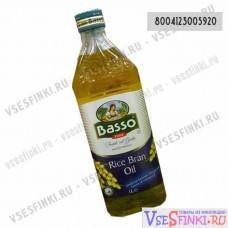 Масло BASSO из рисовых отрубей 1 л