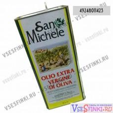 Оливковое масло SAN MICHELE EXTRA VIRGIN 5 л