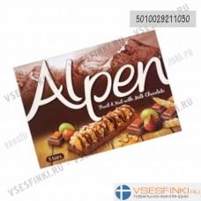 Мюсли Alpen (шоколад,фундук,изюм) 5штх19 гр