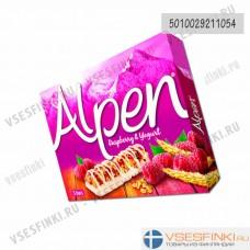 Мюсли Alpen (малина,йогурт) 5штх19 гр
