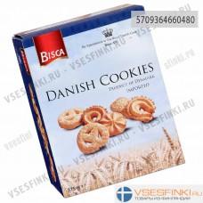Печенье BISCA Danish Cookies ассорти 375гр