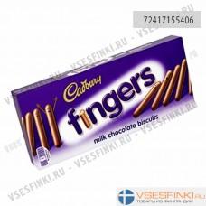 Палочки Cadbury молочно-шоколадные 114 гр