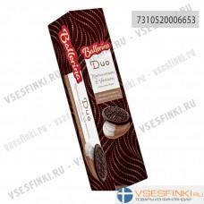 Печенье Ballerina с ванильной и шоколадной начинкой 185гр