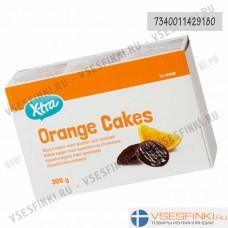 Печенье X-tra (апельсин) 300 гр
