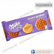 Печенье Milka зерновое с шоколадом 126гр