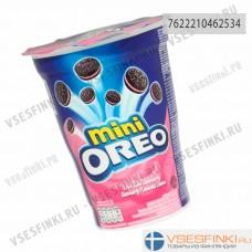 Печенье Oreo Mini с клубничной начинкой 67гр
