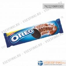 Печенье Oreo с шоколадной начинкой 154гр