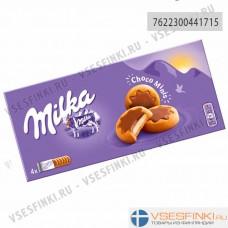 Печенье Milka с молочно-шоколадной начинкой 150гр