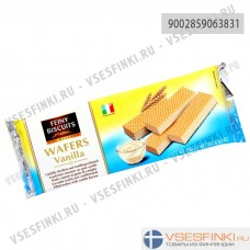 Вафли Feiny Biscuits с ванильной начинкой 250гр