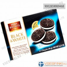 Печенье Feiny Biscuits Black & White 176гр