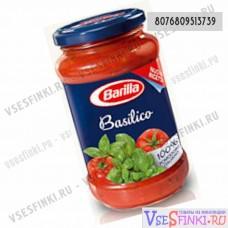 Соус томатный Barilla для пасты с базиликом 400гр