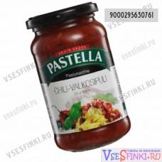 Соус томатный Pastella для пасты с чили и чесноком 360мл