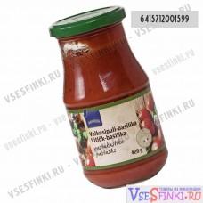 Соус томатный Rainbow для пасты с чесноком и базиликом 420мл