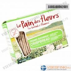 Хлебцы безглютеновые Le pain des fleurs 125гр