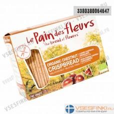 Хлебцы безглютеновые Le pain des fleurs 125гр без глютена