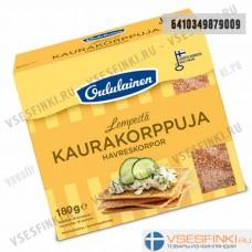 Хлебцы Oululainen с овсяными отрубями  180гр