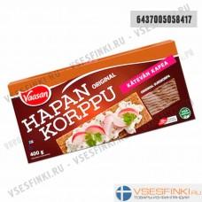 Хлебцы ржаные Vaasan 400 гр