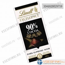 Шоколад Lindt Excellence 100 гр