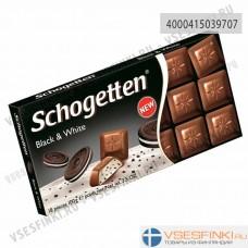 Шоколад Shogetten с черно-белой начинкой 100гр