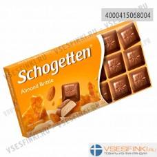 Шоколад Shogetten молочный с миндалем 100гр