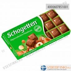 Шоколад Shogetten молочный с фундуком 100гр
