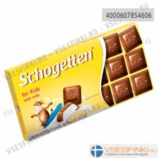 Шоколад Shogetten молочный для детей 100гр