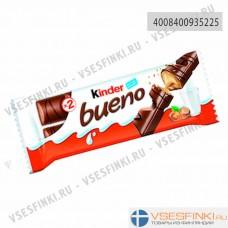 Шоколад Kinder молочный с вафлями 43гр
