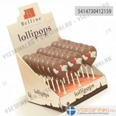 Шоколад Belfine Love молочный на палочке 30гр