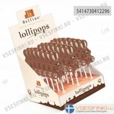 Шоколад Belfine Зайчик молочный на палочке 30гр