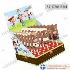 Шоколад Belfine Корова молочный на палочке 30гр